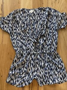 Stunning Witchery Play Suit Size 14 Jumpsuit 100% Polyester