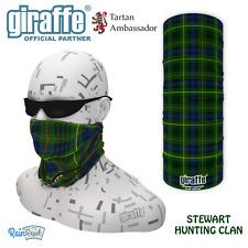 Stewart Hunting Clan Scottish Tartan Multifunctional Headwear Bandana tube