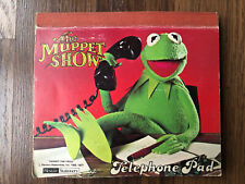More details for 1977 very rare the mupper show kermit the frog telephone pad vintage