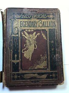 Historical & Legendary Ballads & Songs 1874 Queen Victoria Gift to Joseph Brown