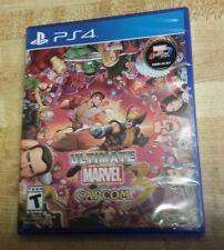 New PS4 ULTIMATE MARVEL VS. CAPCOM 3 US  version