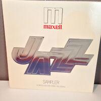 "MAXELL JAZZ SAMPLER - Compilation album - 12"" Vinyl Record LP - EX"
