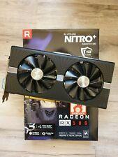 Sapphire Nitro+ AMD Radeon RX 580 4 Go GDDR5 Carte Graphique (11265-07-20G)