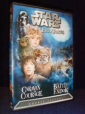 Star Wars Ewok Adventures: Caravan of Courage/The Battle for Endor (DVD, 2004)