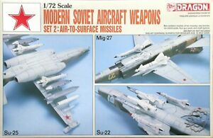 Dragon 1/72 Modern Soviet Aircraft Weapons #2: Air-To-Surface Missiles #2505