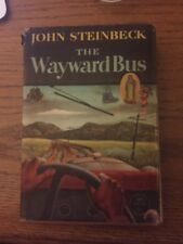 Vintage, The Wayward Bus, Steinbeck, First edition, 1947, Viking Press, Seagull