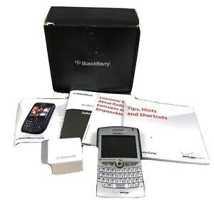 BlackBerry Curve 8530 Verizon Wireless SILVER Smartphone Wireless Cell qwerty 3G