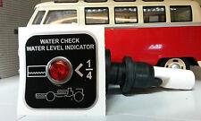 Classic Camper/Motorhome 12v Fresh Water Tank Level Indicator Warning Kit DEL