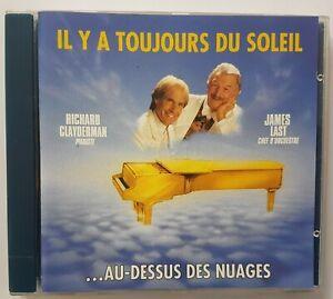 """RICHARD CLAYDERMAN & JAMES LAST 1990 ╚ CD """"GOLDEN"""" ╚  IL Y A TOUJOURS DU SOLEIL"""