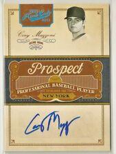 Cory Mazzoni 2011 Prime Cuts Century Platinum RC Autograph Auto #'d/25 - NY METS