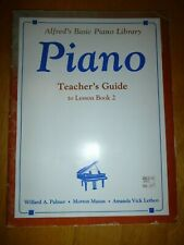 Alfred's Basic Piano Library: Teacher's Guide To Lesson Book 2