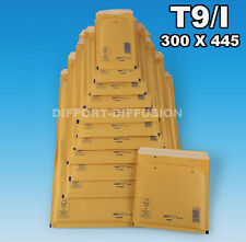 LOT : 50 ENVELOPPES A BULLES / ENVELOPPE BULLE / 320 x 455 mm Taille T9/9 (I)
