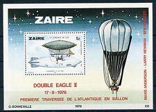 Kongo - Zaire Block 51 postfrisch / Ballone - Zeppelin ...................1/3615