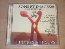 RARE CD + DVD / SONS ET IMAGES DU BURKINA FASO / NEUF SOUS CELLO