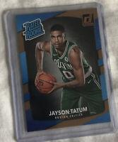 2017-18 Panini #198 Jayson Tatum Rated Rookie RC Card Celtics GRADEABLE 🔥