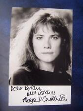 Abigail Cruttenden + note  - Autograph (GC5) 3.5 x 5.5 inch