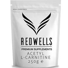 Pure Acetil L Carnitina In Polvere (ALCAR) 250g-alta qualità con libera Scoop!