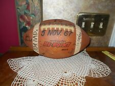 NHA TRANG Vietnam Memorabilia MP Game Collectible Signed Football Military Ball