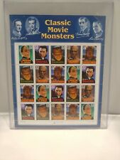 Scott # 3168-72- Classic Movie Monsters- Sheet of (20) 32 Cents Stamps