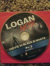 Logan Noir Black & White Edition Blu-ray 2017. DISC ONLY