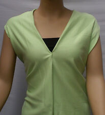 Lime Green Poly/cotton Face French Terry Fabric 180cm Wide P/m.