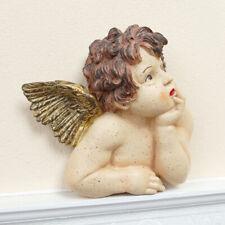 Angelo PERSONAGGIO VINTAGE PERSONAGGIO PUTTO ANGELO SHABBY CHIC scultura