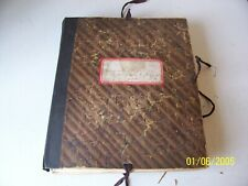 1899 Vintage Scrapbook of Plants 80+ - Margarite Resor Walnut Hills High School