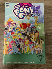 IDW MY LITTLE PONY : FRIENDSHIP IS MAGIC #50 RI FRIED PIE VARIANT COVER : NM