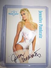 BENCHWARMER SERIE 1 2003 JENNIFER PANKRATZ AUTHENTIC AUTOGRAPH BT4 VR CARD MINT