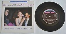 WHITNEY HOUSTON Love Will Save The Day 1988 UK special commemorative edition 7""