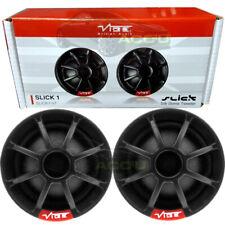 Vibe Audio SLICK1 V7 150w Car Silk Dome Tweeters & Inline Passive Crossovers Set