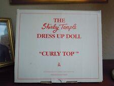 """FRANKLIN MINT TENUE SHIRLEY TEMPLE """"CURLY TOP"""" POUPEE 16/17"""" OU 40/42,5 cm"""