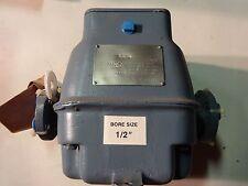 """Foxboro Magnetic Flow Transmitter 1/2""""  Model 1895   Teflon Liner"""