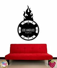 Wall Stickers Vinyl Decal Los Angeles California USA Living Room Decor (z1982)