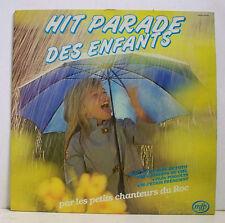 33 tours HIT PARADE ENFANTS Disque LP 12 PETITS CHANTEURS DU ROC  F Réduit  RARE