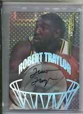 1998 Collectors Edge ROBERT TRAYLOR Autograph RC MICHIGAN WOLVERINES - Deceased