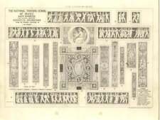 1875 National Training School Of Music South Kensington Sgraffito Decorations