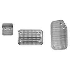 For Ford F-150 2015-2020 Putco 932145 Track Design Aluminum Pedal Pad Set