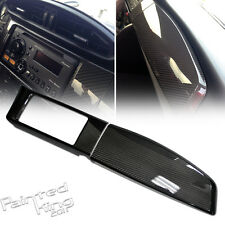 CARBON For TOYOTA 86 SCION FRS For SUBARU BRZ DASHBOARD RADIO BEZEL PANEL COVER