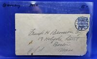 Berlin 1900 Germany to Boston, MA - Postal Cover