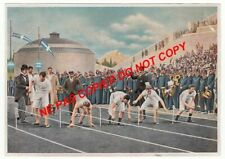 ATHENE Athens GRECE GREECE JEUX 1896 COURSE JEUX OLYMPIQUES 1936 OLYMPIC GAMES