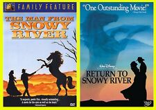 The Man From Snowy River & Return to Snowy River 2 DVD Sets NEW