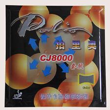 2Pcs Palio CJ8000 Table Tennis Ping Pong Racket Rubber Hardness 42-44°