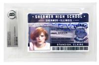 Molly Ringwald Signed Breakfast Club Claire High School ID Card - BECKETT