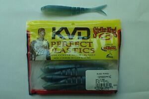 USA Import Strike King Blade Minnow 11.25cm soft plastic COFFEE scent 8x pack