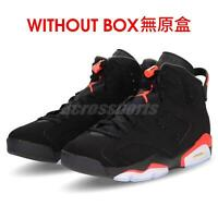 Nike Air Jordan 6 Retro VI NWOB Without Box Infrared Black Men Shoes 384664-060