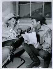 "Guy Madison Andy Devine Wild Bill Hickok Original 7x9"" Photo #Z1400"
