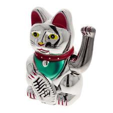 Winkende Katze Winkekatze Maneki Neko Wohlstand Geld Glück Feng Shui Asia 16cm