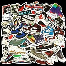 100pcs Fashion Basketball Brand Sneaker Stickers for Skateboard Luggage Decal