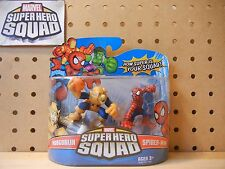 Marvel Super Hero Squad SEALED Wave 8: HOBGOBLIN Glider & SPIDER-MAN hob goblin